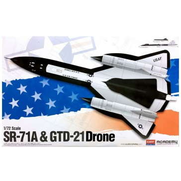 SR-71 & DRONE 1/72
