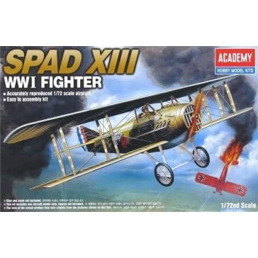 SPAD XIII WW I FIGHTER 1/72