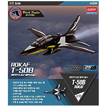 Rokaf T-50B Black Eagles 1/72