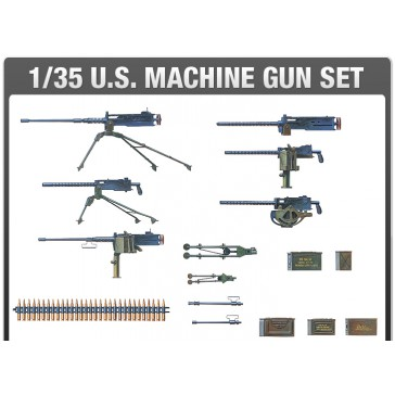 U.S. MACHINE GUN SET 1/35