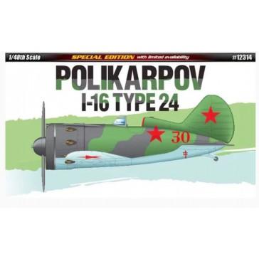 Polikarpov I-16 Type 24 LE 1/48