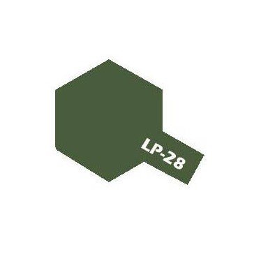 Lacquer paint - LP28 Olive Drab