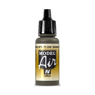 Acrylic paint Model Air (17ml)  - Khaki Green Num.3