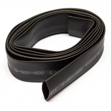 10mm thick shrink tube black - 1m