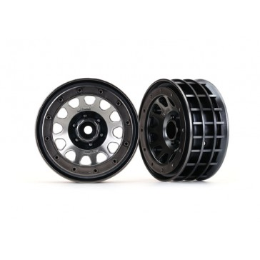 Wheels, Method 105 2.2 (black chrome, black chrome, beadlock) (beadlo