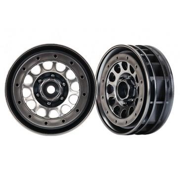Wheels, Method 105 1.9' (black chrome, beadlock) (beadlock rings sold