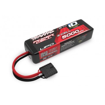 Power Cell LiPo 5000mAh 11.1V 3S 25C, short 135mm