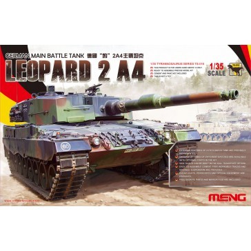 German Main Battle Tank Leopard 2 A4  - 1:35