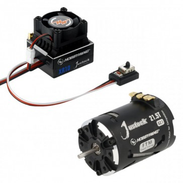 Xerun Justock Combo G2.1 and 21 Turn 1800kV for 1:10 Cralwer