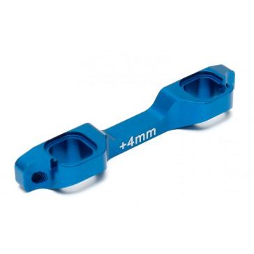 B5M/T5M FACTORY TEAM ALUM. ARM MOUNT +4MM C/B