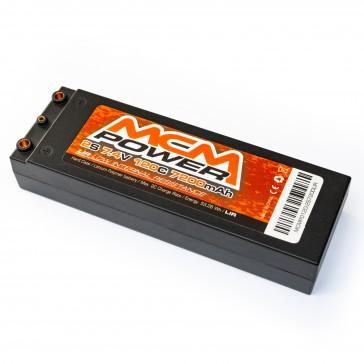 Hard case 120C 7200mha 2S 7,4V LIR (Low Internal Resistance)