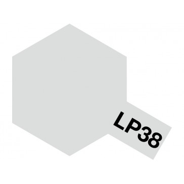 Lacquer paint - LP38 Aluminium Mat