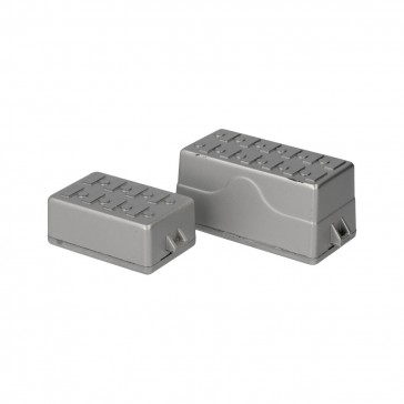 Plastic tool case - gray (2 pcs)