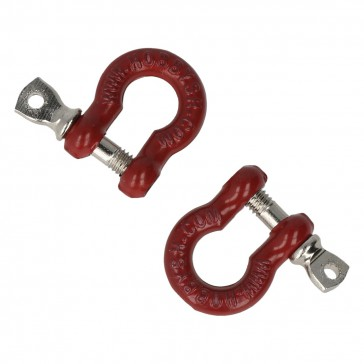 Shackles with collar bolt (2 pcs)