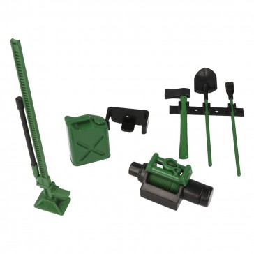 Tool set with mount - Green