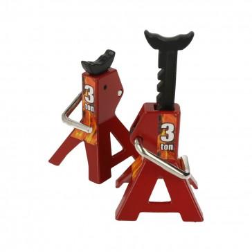 3 tons metal rack and pinion adjustable jack (2 pcs)