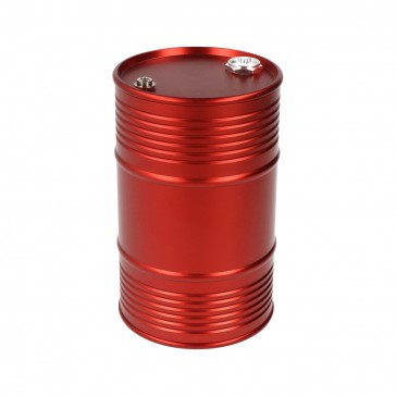 Aluminum oil can - Red