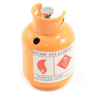 SCALE PAINTED ALLOY GAS BOTTLE