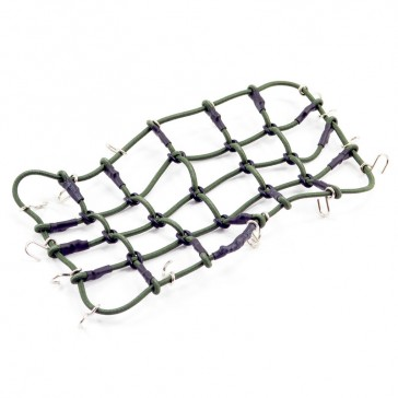 LUGGAGE NET w/HOOKS L190MM X W110MM (UNSTRETCHED)