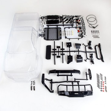 KOMODO CLEAR BODY SHELL SET