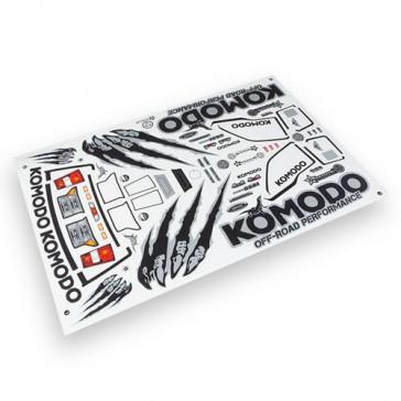 KOMODO DECAL SHEET