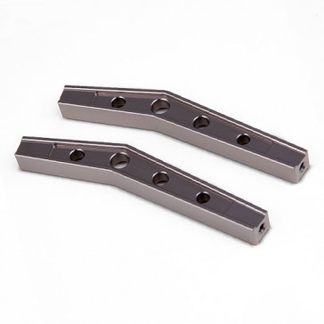 GS01 MACHINED M3 78MM BENT LOWER LINK (TI. GREY) PR