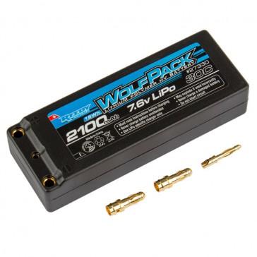 WOLFPACK HV-LIPO 2100MAH 30C 7.6V HARD CASE