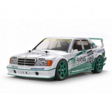 Lot RC Mercedes 190 E