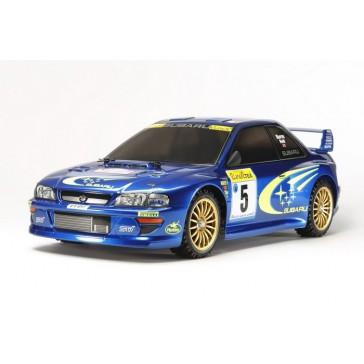 Lot RC Subaru Impreza Monte-Carlo '99 (kit+radio+accu+chargeur)