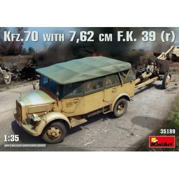 Kfz. 70 with 7.62 cm F.K. 39 1/35
