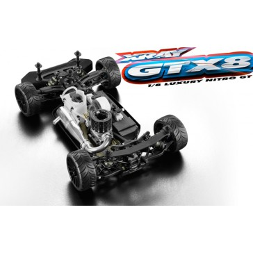 XRAY GTX8 - 1/8 Luxury Nitro On-Road GT Car