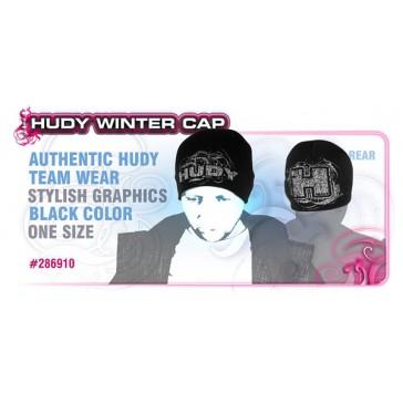 HUDY WINTER CAP - BLACK