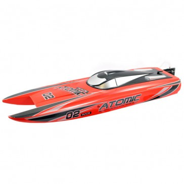 RACENT ATOMIC 70CM BRUSHLESS RACING BOAT RTR RED