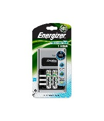 1 Lader 1 HOUR Energizer + 2 x AA 2300 mAh