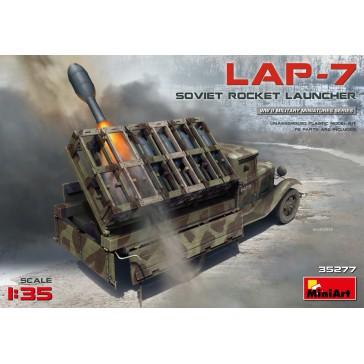 Sovier Rocket Launcher LAP-7 1/35