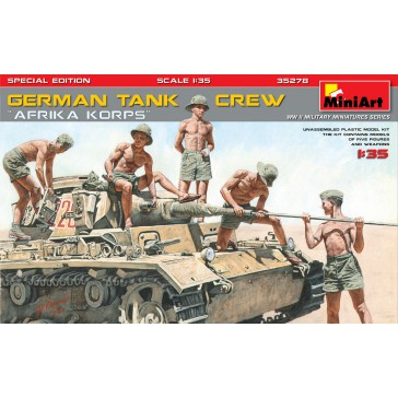 German Tank Crew (Afrika Korps) 1/35