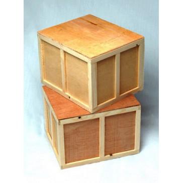 Emulate wood carton  1unit