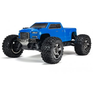 1/10 BIG ROCK CREW CAB 4x4 3S BLX Brushless RTR, Blue
