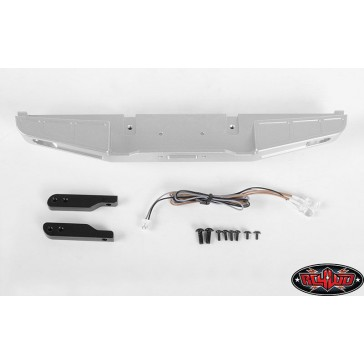 Front Winch Bumper W/LED Lights for Traxxas TRX-4 '79 Bronco