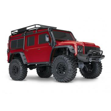 TRX-4 Crawler Land Rover Defender -  Red