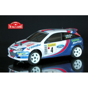 FOCUS WRC ARTR-MC RAE-GRIST 2001(CLEAR BODY)