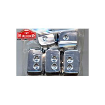 DISC..Lancia Stratos crome cups light set
