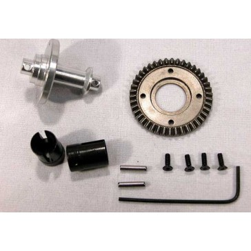 SOLID AXLE FOR GEAR DIFFERENTIALS RALLY LEGENDS