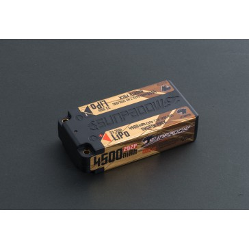 LiPo Battery 4500mAh 120C/60C 2s Competition Shorty 4mm plug