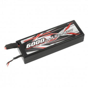 LiPo Battery 6000mAh 60C/30C 2s Hardcase T-Plug
