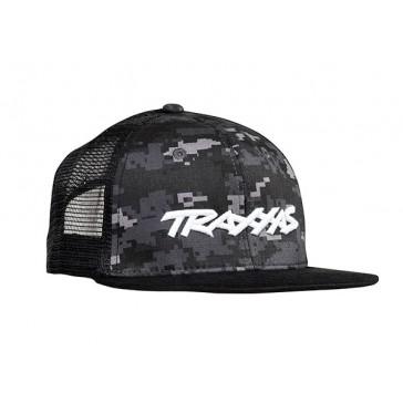 Traxxas Logo Hat Flat Bill Bla
