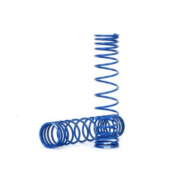Spring, shock, front (blue) (GTR)