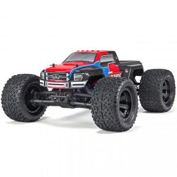 AR102663EU Granite Voltage 2WD Mega RTR Red/Black