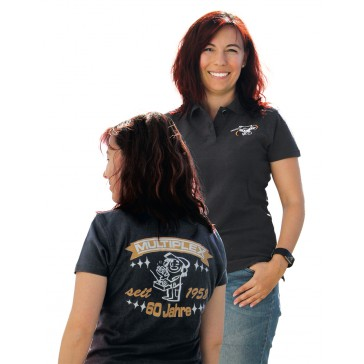 DISC..MPX Polo-Shirt 60 Years-Ladies-Size. XL