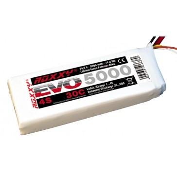 LiPo-Akku ROXXY Evo 4-5000 30C